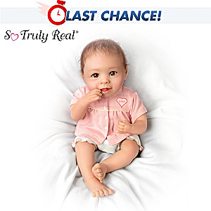 Linda Murray Lifelike Baby Girl Doll: Precious Grace