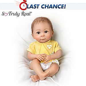 Linda Murray Lifelike Baby Girl Doll: Sweet Joy