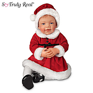 """Avery's First Christmas"" So Truly Real Baby Girl Doll"