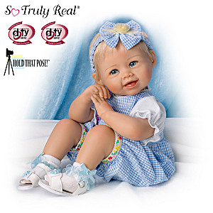 "Bonnie Chyle ""Madison"" Poseable Lifelike Baby Girl Doll"