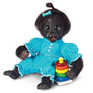 "Cindy Sales ""Dottie's Day Of Fun"" Lifelike Monkey Doll"