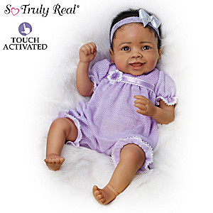 "Linda Murray ""Trinity"" Touch-Activated Baby Girl Doll"