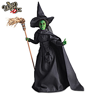 """""""Wicked Witch Of The West"""" Collector Edition Talking Doll"""