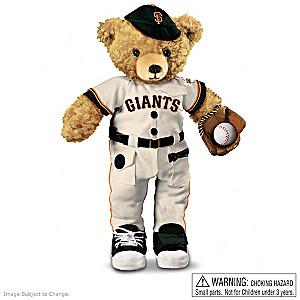 Interactive San Francisco Giants Coaching Teddy Bear