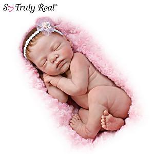 Lifelike Newborn Baby Doll By Marita Winters