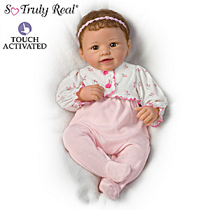 Sadie Interactive Baby Doll Breathes, Coos, Has A Heartbeat