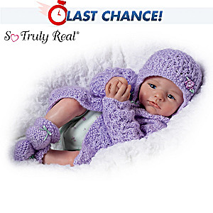 """So Truly Real Poseable """"Alyssa Claire"""" Doll By Marissa May"""
