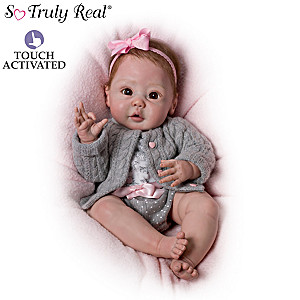 "Sherry Miller ""Cuddly Coo!"" Interactive Baby Doll That Coos"