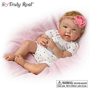"Down Syndrome Awareness ""A Special Joy"" Baby Doll"