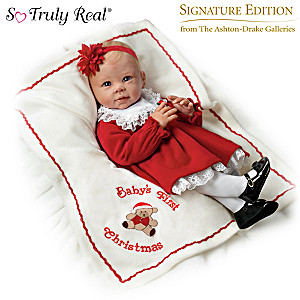 """Signature Edition """"Baby's First Christmas"""" Baby Doll"""