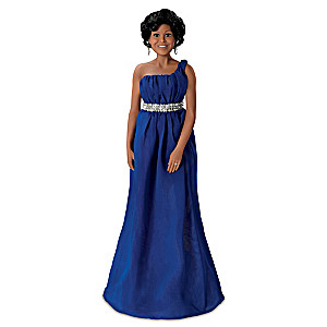 """""""Michelle Obama State Dinner"""" Poseable Portrait Doll"""