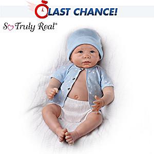Linda Murray Lifelike Sweet Baby Liam Baby Boy Doll