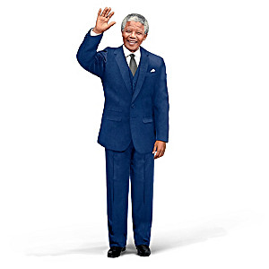 Nelson Mandela Poseable Talking Commemorative Portrait Doll