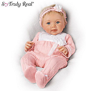 """Sherry Rawn """"Adorable Addison"""" Lifelike Weighted Baby Doll"""