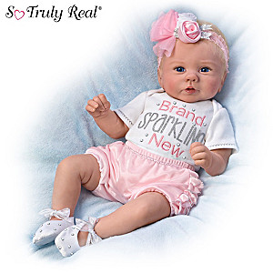 Doll Wears Real Baby Clothes