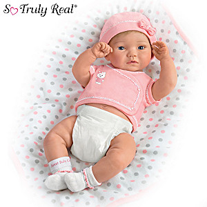 """A Little One To Love"" Anatomically Correct Baby Girl Doll"