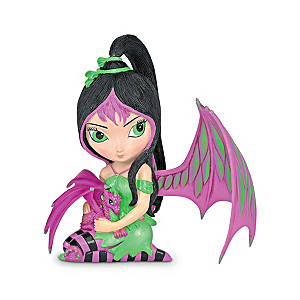 Jasmine Becket-Griffith Fairy And Baby Dragon Figurine