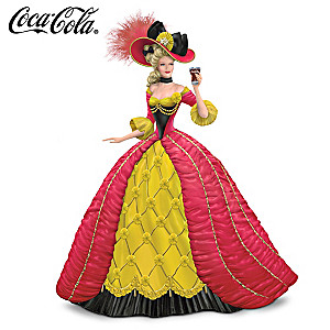 Coca-Cola Girl In Peter Carl Fabergé-Style Gown