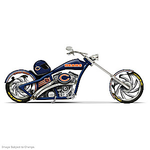 Chicago Bears Chopper With Official Team Logos