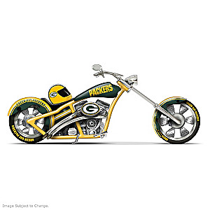 Green Bay Packers Chopper With Official Logos And Colors