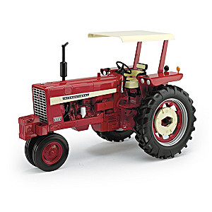 1:16-Scale Diecast Farmall 544 Gas Narrow Front With Canopy