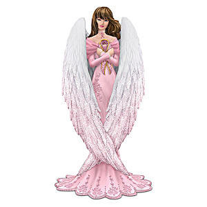 "Brooke Gillette Breast Cancer Support ""Hope"" Angel Figurine"