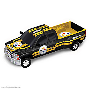 Steelers Super Bowl X Chevy Silverado Sculpture