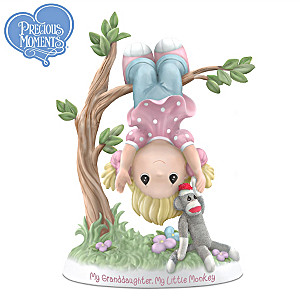 Precious Moments My Granddaughter, My Little Monkey Figurine