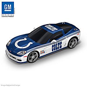 Indianapolis Colts Super Bowl XLI Chevy Corvette Sculpture
