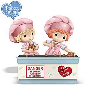 I LOVE LUCY Precious Moments Chocolate Factory Figurine