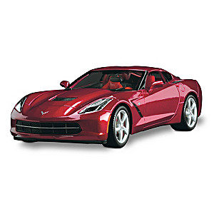 1:18-Scale 2014 Chevy Corvette Stingray Diecast Replica