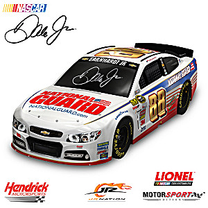 1:18-Scale Dale Jr. 2014 #88 National Guard Car Sculpture