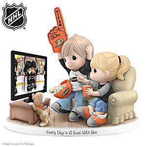 Precious Moments Anaheim Ducks® Fan Porcelain Figurine