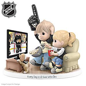 Precious Moments Penguins® Fan Porcelain Figurine