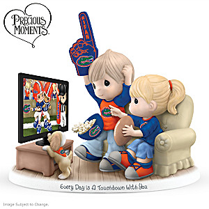 """Every Day Is A Touchdown With You"" Florida Gators Figurine"