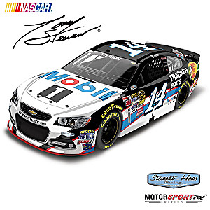 1:24-Scale Tony Stewart No. 14 2015 Mobil 1 Diecast Car