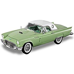 1:18-Scale 1957 Ford Thunderbird Convertible Diecast Car