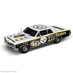 Pittsburgh Steelers Super Bowl Car Sculpture: 1:18 Scale