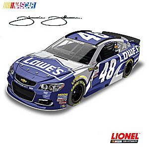 1:24-Scale Jimmie Johnson 2016 Lowe's Winner Diecast Car