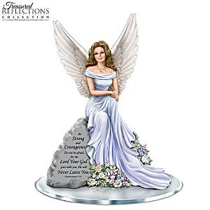 "Dona Gelsinger ""Angel Of Courage"" Inspirational Figurine"