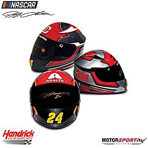 Jeff Gordon Hand-Autographed Racing Helmet: Choose From 5