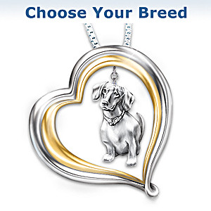 Loyal Companion Golden Retriever Lover Necklace Gift Idea