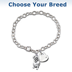 """Loyal Companion"" Diamond Charm Bracelet"