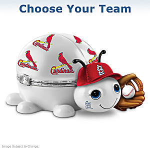 Choose Your MLB Team: Love Bug Porcelain Music Boxes