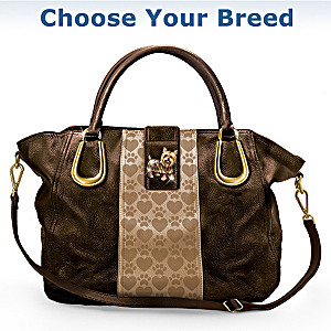 """Puppy Love"" Satchel-Style Handbag: Choose Your Breed"