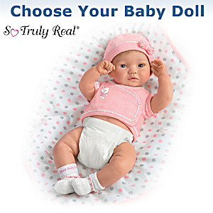 """P. Lau """"Little Ones To Love"""" Baby Doll: Choose Girl Or Boy"""