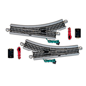 HO-Gauge Remote Control Switch Train Accessory Set