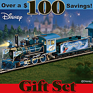 """Magic Of Disney Express"" Illuminating Train Set"