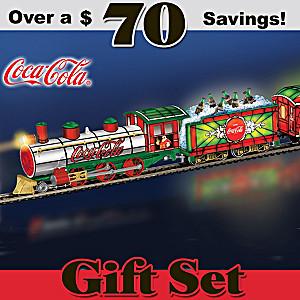 "COCA-COLA ""Light The Holidays"" Illuminated Christmas Train"