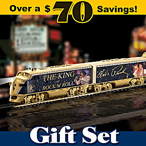 "The Illuminated ""King Of Rock 'N' Roll Express"" Train Set"